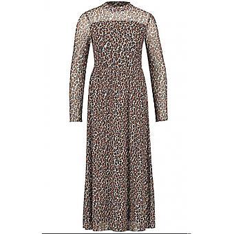 Taifun Leopard Print Maxi Dress