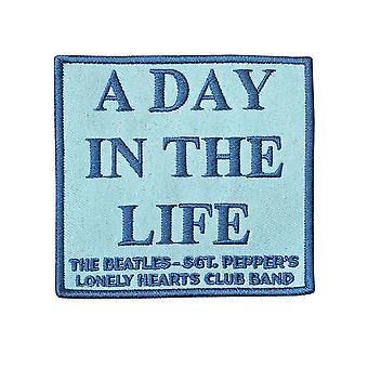The Beatles patch en dag i livet Sgt peber officielle broderet jern på