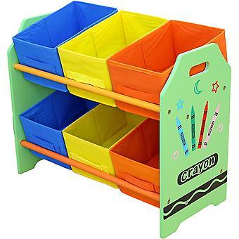 Kiddi Style Crayon 6 Box Aufbewahrungseinheit