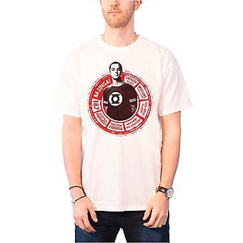 The Big Bang Theory T Shirt Sheldon Circle new Official Mens White