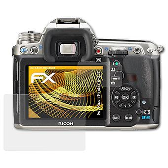 atFoliX Glass Protector compatible with Ricoh Pentax K-3 II Glass Protective Film 9H Hybrid-Glass