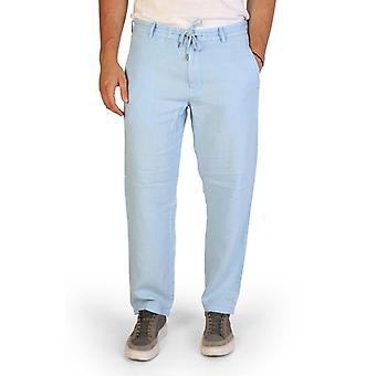 Man linen trousers pants aj58583