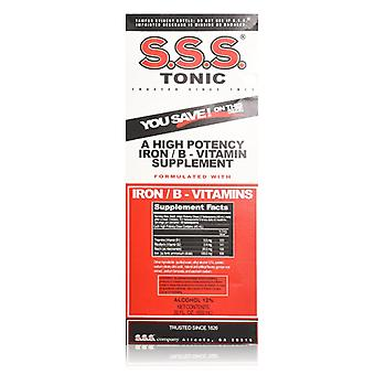 S.s.s. tonic, en høy styrke jern / b-vitamin supplement, 10 oz *