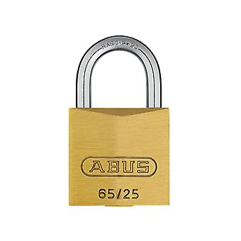 ABUS 65/25mm Brass Padlock Carded ABU6525C