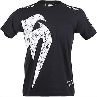 Venum giant mens t shirt black/white