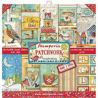 Patchwork 12x12 Inch Paper Pack (SBBL49)