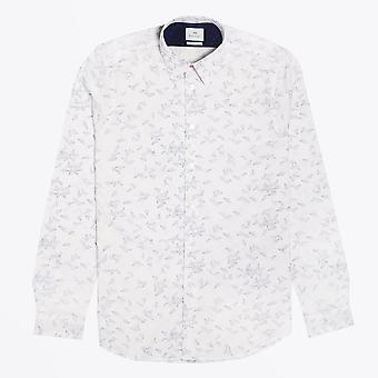PS Paul Smith  - Paper Aeroplane Print Shirt - White