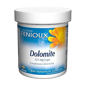Dolomite 200 capsules of 325mg