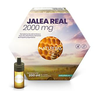 Royal jelly 2000 mg with propolis and echinacea 20 ampoules of 10ml