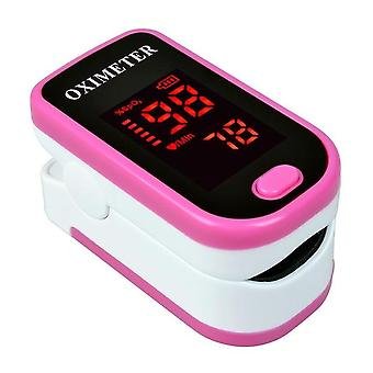 Blood Heart Rate Monitor- Finger Pulse Led Pulse Saturator Blood Pressure