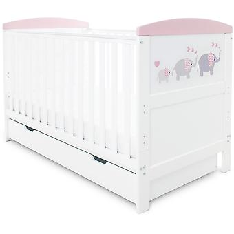 Babyhoot Coleby Style Cot Bed & Under Drawer