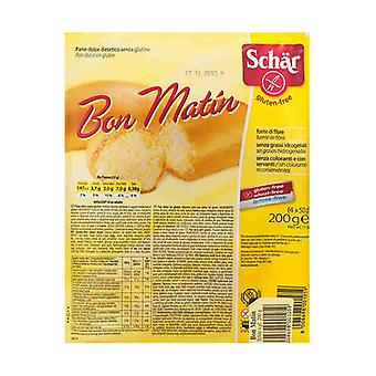 Bon Matín Sweet Bread 4 units of 50g