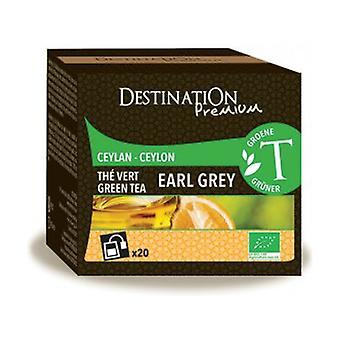 Thé Vert Earl Grey - Ceylan 20 unités de 2g