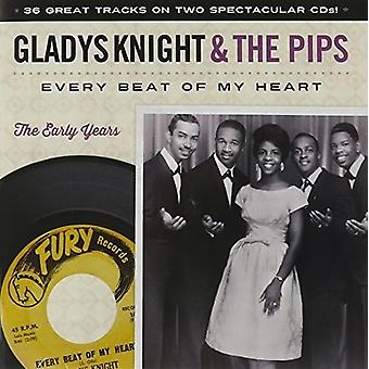 Gladys Knight & Pips - Every Beat of My Heart: The Early Years [CD] USA import