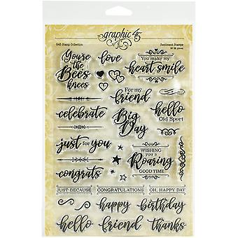 Gráfico 45 Sentiment Clear Stamps
