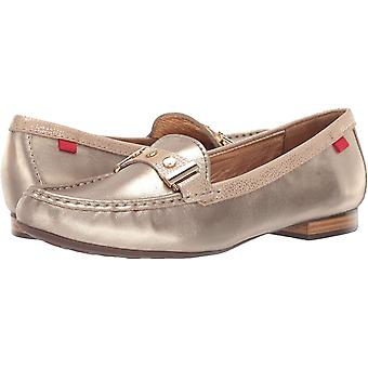 Marc Joseph New York Women's Shoes Mulberry Leather Closed Toe Loafers