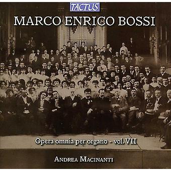 M.E. Bossi - Marco Enrico Bossi: Opera Omnia Per Organo, Vol. 7 [CD] USA import