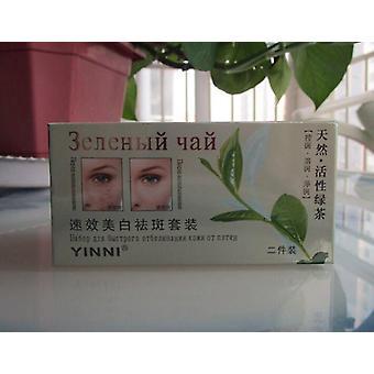 Grüner Tee Anti Freckle Haut Pflege Whitening Creme