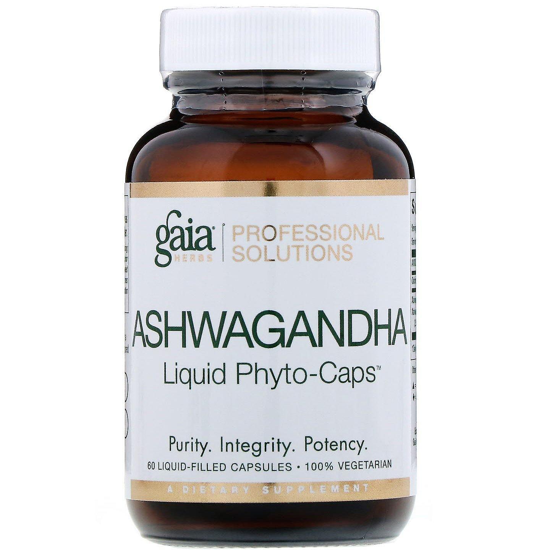 gaia herbs professional solutions ashwagandha 60 liquid