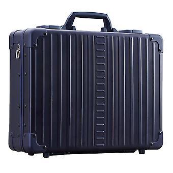 "ALEON Attach' Caja portátil de aluminio 17"" Caja portátil 42 cm, Azul"