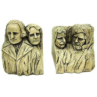 Historical Wonders Mount Rushmore Bookends