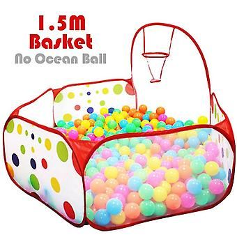 Ocean Ball Pit Playpen Children Toy - Tent Ball Pool With Basket Outdoor Toys For Children Ballenbak