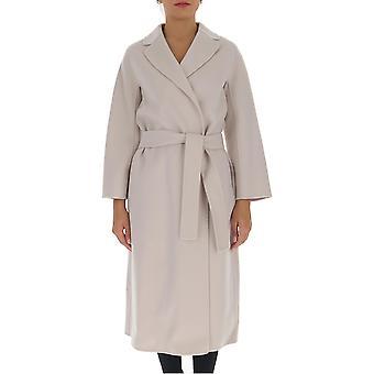 'S Max Mara 90161509600700001 Femmes-apos;s Manteau de laine blanche