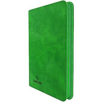 Gamegenic Zip-Up Álbum 8-Pocket - Verde
