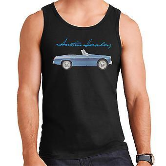 Austin Healey Blue British Motor Heritage Men's Vest