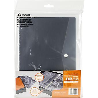 Tonic Studios Large Ring Binder Die Case Refills 3/Pkg-A4 Magnetic Sheets W/Plastic Sleeves