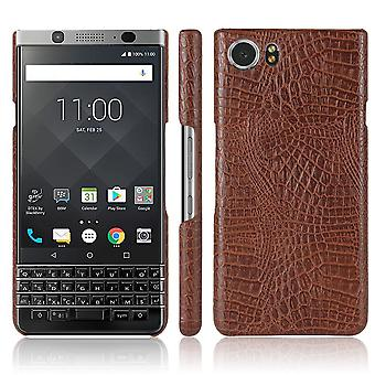 Leather Case for Blackberry KEYone Brown kusiqi-123
