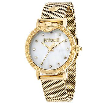 Just Cavalli Women-apos;s Animalier Mother of Pearl Dial Watch - JC1L124M0075