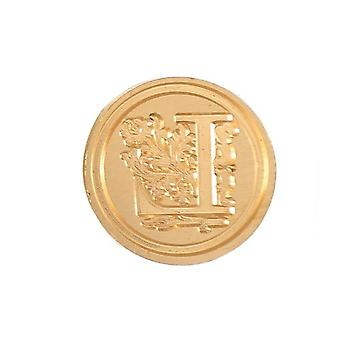 Creative Letter Fire Paint Seal Handle And Copper Head Stamps. Sealing Wax Card