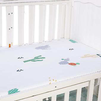 Baby Mattress Cover, Kids Crib Fitted Bed Sheet