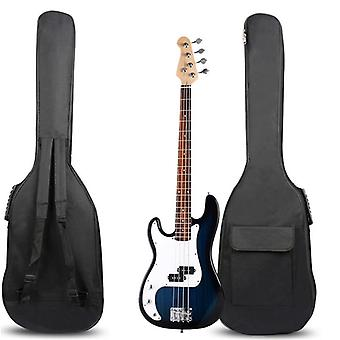New Arrival Double Straps Padded Electric Bass Guitar Bag Soft Case Gig Useful