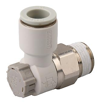 Air Speed Control Valve Fitting Connector Equipment 3/8Inch AS2201F-03-10SA