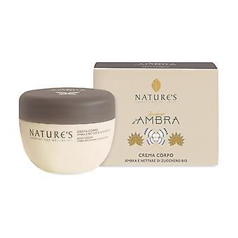 Amber Sugar Body Cream 250 ml of cream