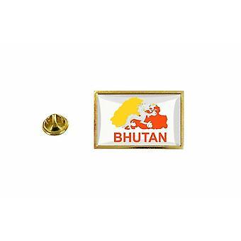 pine pine pine badge pine pin-apos;s country flag map BHT Bhutan
