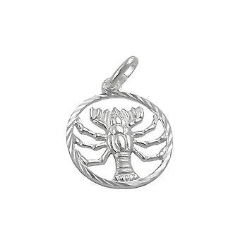 Zodiac Colgante Cáncer Plata 925