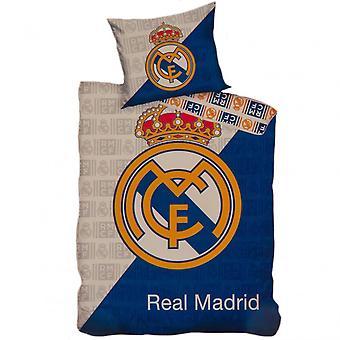 Real Madrid CF Crest Duvet Cover Set