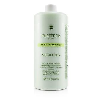 Rene Furterer Melaleuca Anti-Dandruff Ritual Anti-Dandruff Shampoo - For Oily, Flaking Scalp (Salon Product) 1000ml/33.8oz