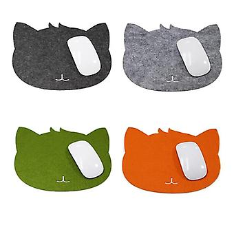 Mouse Pad, Cat Shape Picture Anti-slip Laptop Pc Mice Pad/mat Mousepad