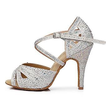 Nő Fabric Latin Dance Cipő