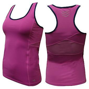 Diadora Womens Tank Top Gym Training Running Vest Purple 102 171016 55274 A9E