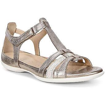 Ecco blixt sandaler kvinnors silver