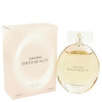 Sheer Beauty by Calvin Klein Eau De Toilette Spray 3.4 oz / 100 ml (Women)