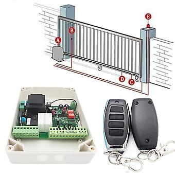 433mhz Remote Control, Wireless Transmitter And Receiver For Sliding Door
