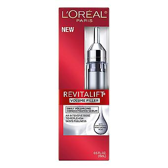 L'Oreal Paris Revitalift Volume Filler, Concentrated Serum, Hyaluronic Acid, Anti-Aging, 15 mL