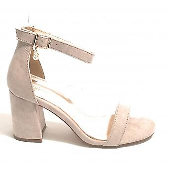 Women's Shoes Sandalwood Gold&gold In Ecopelle Suede Col. Grey Ice Tc 70 Ds18gg10