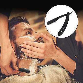 Foldable Vintage Stainless Steel Beard Hair Shaving Razor Blades For Barber